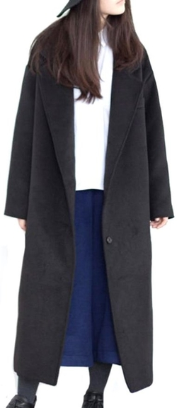 Pipi - Long Wool Blend Coat