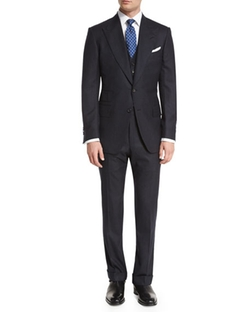 Tom Ford - Windsor Base Flannel Pinstripe Suit