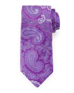 Ike Behar  - Paisley Woven Tie