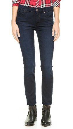 Mother - The Muse Staight Skinny Ankle Jeans