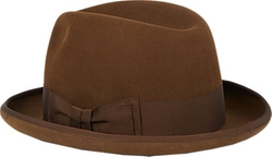 "Barbisio - ""Homburg"" Fedora Hat"