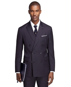 Brook Brothers - Milano Fit Double-Breasted 1818 Suit