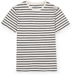 J.Crew   - Striped Cotton-Jersey T-Shirt