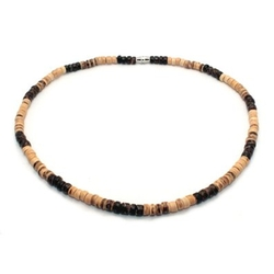 Green Nipa Hut - Surfer Necklace