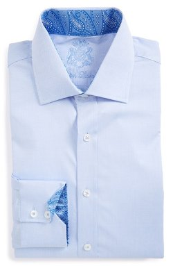 English Laundry - Trim Fit Dobby Dress Shirt