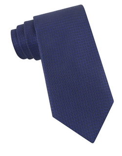 John Varvatos U.S.A.  - Silk Woven Check Tie