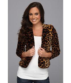 Lucky Brand - Kaela Leopard Blazer