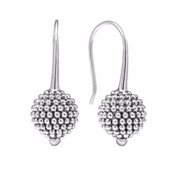 Lagos - Sterling Silver Caviar Ball Earrings