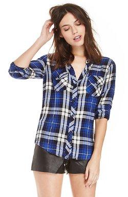 Rails  - Carmen Plaid Button-Down Shirt