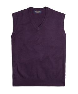 Brooks Brothers - Saxxon Wool Sweater Vest