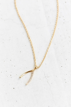 Urban Outfitters  - Wild Wishbone Necklace
