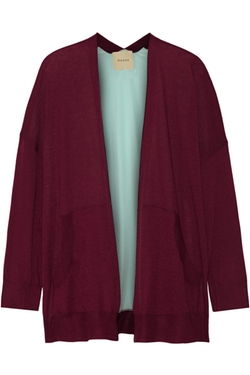 Mason by Michelle Mason - Cashmere And Silk Cardigan