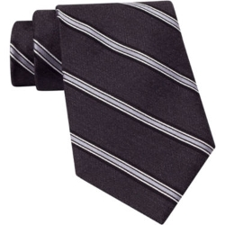 Claiborne - Striped Silk Tie