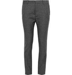 Jil Sander   - Charcoal Slim-Fit Trousers