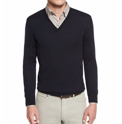Ermenegildo Zegna - Merino Wool V-Neck Sweater