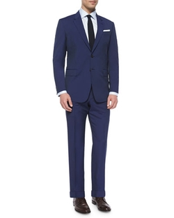 Paul Smith	  - Hairline Stripe Two-Piece Suit