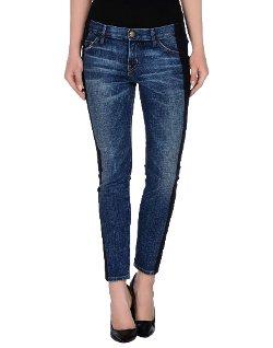 Current/Elliot + Marni  - Straight Leg Denim Pants