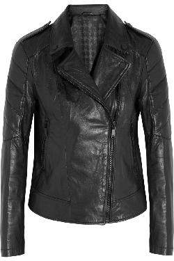 KARL LAGERFELD  - Bethina leather biker jacket