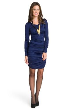 CHRISTIAN SIRIANO  - Sapphire Sophisticate dres