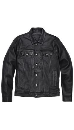 Marc Jacobs Lambskin Leather Jacket - Lambskin Leather Jacket