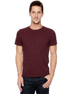 Splendid - Heather Jersey Pocket Crew Tee Shirt