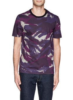 Maison Margiela - Coated Paint Print T-Shirt
