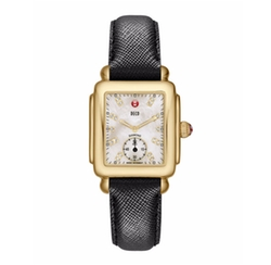 Michele  - Deco Diamond Dial Watch