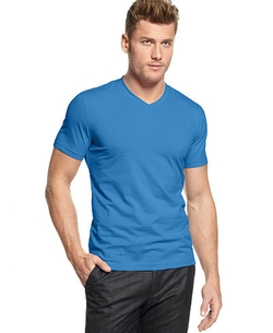 Alfani - Slim Fitted V-Neck T-Shirt