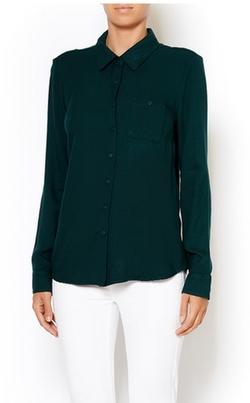 BCBGeneration - Woven Button-Up Shirt