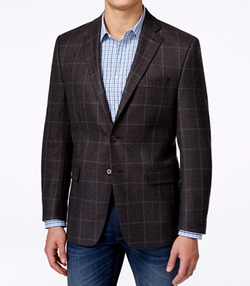 Lauren Ralph Lauren - Classic-Fit Windowpane Sport Coat