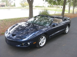 Pontiac  - 2002 Firebird Convertible Car