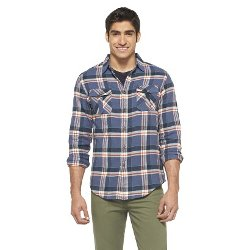 Mossimo Supply Co  - Slim Fit Plaid Flannel Shirt