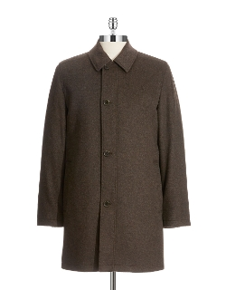 Lord And Taylor - Tweed Wool Coat
