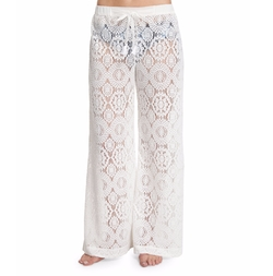 Michael Kors - La Vie Boheme Crocheted Coverup Pants