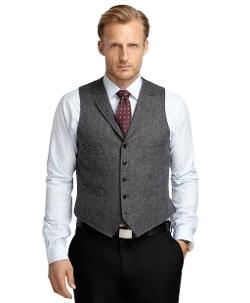 Brooks Brothers - Donegal Tweed Vest