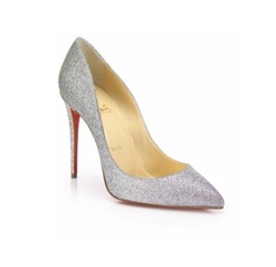 Christian Louboutin - Pigalle Follie Glitter Pumps