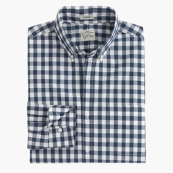 J.Crew - Slim Secret Wash Shirt In Faded Gingham