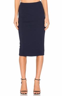 Blaque Label - Knit Pencil Skirt