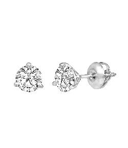 Dillard´s  - Diamond Collection Premium Martini Set Round Diamond Stud Earrings
