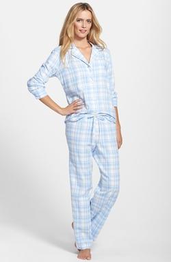 Lauren Ralph Lauren  - Brushed Twill Pajamas