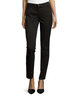 Lafayette 148 New York  - Slim-Fit Twill Pants