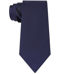 DKNY - Plaid Panel Slim Tie
