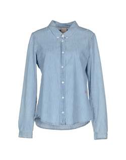 (+) People - Button Down Denim Shirt