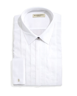 Burberry - Slim-Fit Tuxedo Shirt