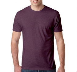 Custom Tshirts - Mens Tri-Blend Crew Neck T-Shirt