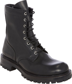 Rick Owens - Lace-Up Combat Boots