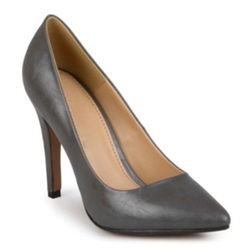Journee Collection - Yoko Pointed Toe Pumps in Wide Width