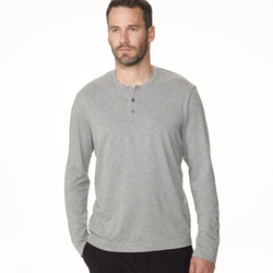 James Perse - Brushed Cotton Henley Shirt