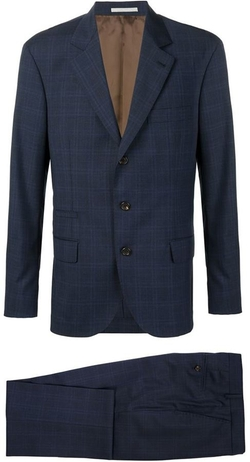 Brunello Cucinelli - Two Piece Checked Suit