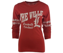 Royce Apparel Inc  - Long-Sleeve Louisville Cardinals Unity T-Shirt